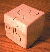 Bandsaw Puzzle Cubes